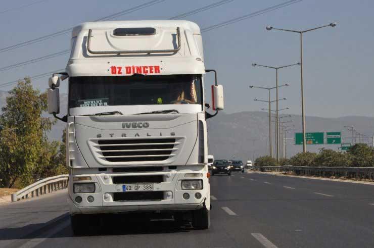 Kamyon ve Kamyonet Ehliyetli Şoför