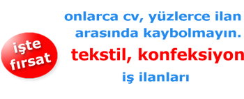 Kalite Kontrolcü - Dikiş Ustası İş İlanları - Dudullu OSB