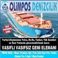 Olimpos Denizcilik İstanbul Vasıfsız İş İlanı