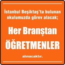 Her Branştan Öğretmen Beşiktaş